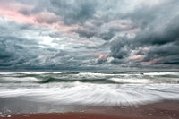 Stormy Skies over Inverness Beach