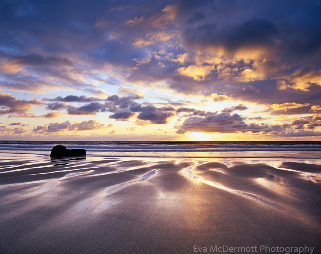 Sunrise on Durness Beach, Sutherland, Scotland
